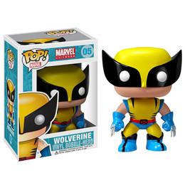 Wholesale Wolverine Movie Toys - Funko POP Wolverine Collection Action Figure Version X-Men Origins Wolverine Hot Movie Anime Figure 10cm PVC Anime Figure Cartoon toys