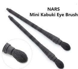Wholesale Eye Shading Brush - Mini Kabuki Eye Brush for shading Soft Goat Hair Beauty Makeup Cosmetic Brush Blender DHL Free Shipping