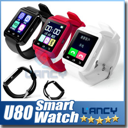 Wholesale Wholesale Italian Gifts - Bluetooth U8 Smart Watch Wrist Watches With Altimeter For iPhone 6 Samsung S6 Note 5 HTC Android Phone In Gift Box