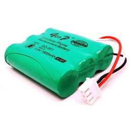 Wholesale Cordless Phone Rechargeable Battery - Hot Sale 4PCS AA 3.6V 1800mAh Cordless Phone Replacement Batteries High Quality NiMH Battery Rechargeable Bateria