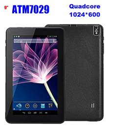 Wholesale China Blue Colour - 100PCS 9 inch Android 4.4 Quad Core ATM 7029 A33 Q88 Tablet PC 8GB ROM OTG with HDMI Dual Camera with Flashlight Tablet PC 5 Colour