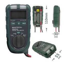Wholesale Mini Diode - Mastech MS8232A Mini Digital LCD Multimeter Auto Range DMM Diode Continuity Test Non-contact AC Voltage Induction Detection