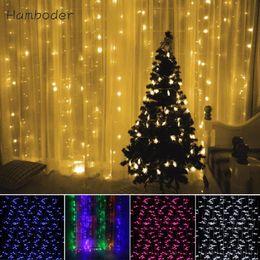 Wholesale Led Window Curtain Lights - Wholesale- MA 28 Shining Hot Selling Fast Shipping LED 3Mx3M 448LED Window Curtain Lights String Fairy Lamp Wedding Party Decor