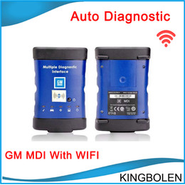Wholesale Programme Ecu - Hot selling GM Diagnostic tool GM MDI with Wilreless Communication WIFI GM ECU Programming tool with DHL Free Shipping