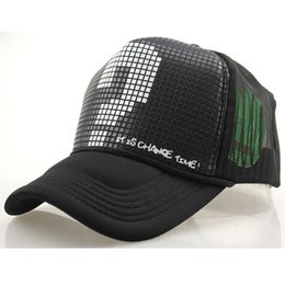 Wholesale Vogue Snapback Hat - Wholesale-New Vogue Large Question Mark Baseball Caps For Women Men Personalized Trucker Hat Snapback Hats Sports Chapeu Gorras H6045