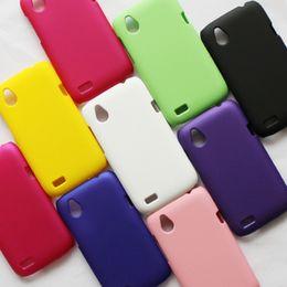 Wholesale Desire V Case - Wholesale-Free Shipping! Colorful Rubber Matte Hard Back Case for HTC Desire X T328e Desire V T328w Frosted Plastic Back Cover, HCC-006