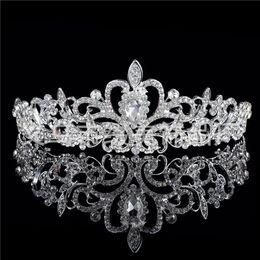 Wholesale Manufacturer Plant - The Han Edition Crown Diamond Wedding Dress Headdress Flower Accessories Wholesale Bridal Hair Accessories Manufacturer Tiaras