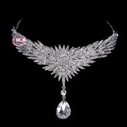 2015 Chaude Incroyable Mariée Cristal Front Décoratif De Mode Bijoux De Mariage Partie De Mariée Cheveux Accessoires De Mariage Chapeaux ? partir de fabricateur