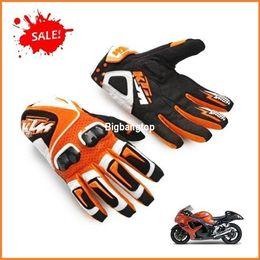 Wholesale Original Gloves - New original KTM racetech 12 motorcycle gloves motorbike motorcross ATV Offrod gloves Free shipping worldwide