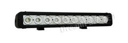 Wholesale Cheap Led Spot Light Trucks - 17 Inch 10pcs*10W CREE 8600lm IP67 100W LED Light Bar Flood Spot Pencil Beam for 4WD 4x4 Offroad Jeep Truck Boat cheap shipping