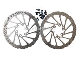 Wholesale Disc Brake Rotor 2pcs - Wholesale-1 Pair AVID BB5 BB7 Disc Brake Rotor G3 160mm 2pcs bicycle brake disc Rotors MTB bike brake Rotors