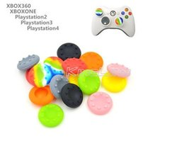 Wholesale Xbox One Caps - Silicone Game Controllers Thumbsticks cap Thumb stick caps Joystick covers Grips cover for PS3 PS4 XBOX ONE XBOX 360 controllers