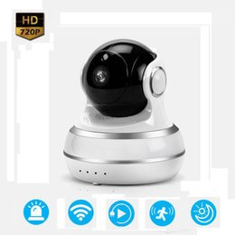 Wholesale Megapixel Ip Cameras - Surveillance Camera Q10 Pan Tilt 1.0 Megapixel Sensor P2P IP Camera Pat Monitor Two Way Audio WiFi Camera Baby Monitor