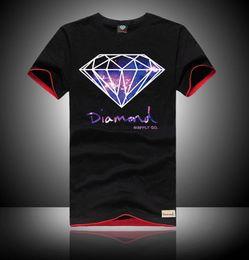 2019 diamant-versorgungsmaterial-hemden freies verschiffen Neue Mode Diamant Versorgung T Shirts Diamant Versorgung T Shirt Baumwolle T-Shirt Kurzarm Mann Top Mens T-Shirt Kostenloser Versand günstig diamant-versorgungsmaterial-hemden freies verschiffen