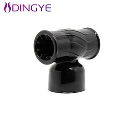 Wholesale Baile Style - w1031 2015 Baile New Style Male Masturbator Wand Messager Head Delay Time AV Messager Head Medical TPR Sex Toys For Male