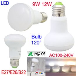 Wholesale Mushroom Light Bulbs - Free DHL High Quality 9W 12W LED Bulbs mushroom lamp Energy Saving Light E27 E26 B22 LED globe Light Bulb Lightings Lamp 100V-240V RoHs CE