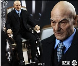 """Wholesale Old Collectible Toys - 1:6 scale Super flexible male figure 12"""" action figure doll Collectible Model toy X-Men: Apocalypse old Professor"""