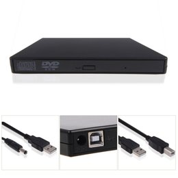 Wholesale External Usb Burner - New USB 2.0 External DVD Combo CD-RW CD±RW Burner Drive Black