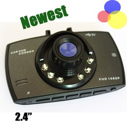 Wholesale Sd Card Record Camera - Car dash cams hd car dvr 2.4'' camera cam recorder 720p dashcam with 6 fixed focus lens