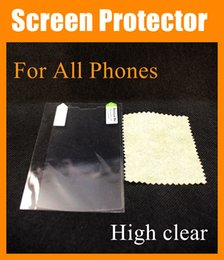 Wholesale Note3 Screen Guard - High Clear Screen Protector Glossy Guard Film Shield Skin for iphone6 iphone 6 5 4 FOR Samsung Galaxy s5 S4 S3 note2 note3 note4 SSC002