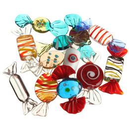 glitterband großhandel rot Rabatt 12 teile / los Schöne Design Vintage Glas Bonbons Xmax Hochzeit Süßigkeiten Weihnachtsschmuck Fit Für Dekorationen Muster Nach Dem Zufall Party Dekoration