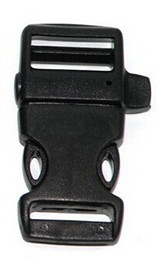 "Wholesale Paracord Whistle Bracelet - 20pcs lot 3 4"" plastic Whistle paracord bracelet Buckles clasp side release shackles for paracord bracelet outdoor emergency survival tool"