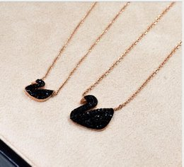 Wholesale Unique Style Necklaces - 18K Rose Gold Necklace 74 Styles 316l Stainless Steel High Quality Unique Styles Pendant Necklace Free Shipping