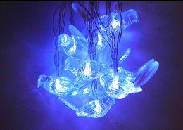 kleinste sonnenlicht Rabatt Freies Verschiffen 2.5m 10LED Vogel Solarlichter Tiere LED kleine Nachtlampe Kinderzimmer Dekoration Weihnachtsgarten dekorative Lichterkette