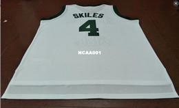 maglie personalizzate gratuite Sconti Spedizione gratuita # 4 Scott Skiles College Jersey Michigan State Spartans verde bianco personalizzare qualsiasi numero uomini cuciti Jersey