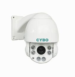 Wholesale Waterproof Camera Ir Mobile - Onvif HD 2MP 1080P waterproof Mini 4'' PTZ IP Camera IR-CUT Outdoor 6*Array Led long IR 50m Speed Dome Camera 10X Zoom Mobile phone View