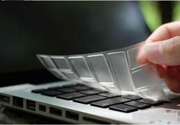 Copertina della tastiera retina macbook pro online-TPU Crystal Keyboard Custodia protettiva Cover ultrasottile Trasparente Trasparente per MacBook Air Pro Retina 11 confezione da 13/15 pollici EU USA Retail