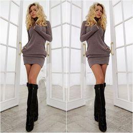 Atacado-2015 ano novo mulheres vestido quente roupas de inverno para as mulheres se vestem roupas femininas sexy escritório vestido supplier sexy fall dresses de Fornecedores de vestidos de queda sexy