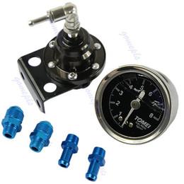 Wholesale Fuel Pressure Regulator Gauge - Wholesale-A31 On Sale! New Adjustable Fuel Pressure Regulator With Oil Gauge Type-S With Retail Box