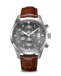 Wholesale Brown Area - Quartz watch fashion sport watch styrofoam brand high-end men's fashion watch stainless steel strap watchThe new popular large aperture area