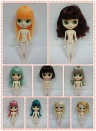 Wholesale Nude Dolls - Wholesale-Free shipping Middle blyth Nude dolls New arrival doll