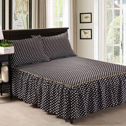 Wholesale Pillowcase Skirt - Wholesale- 3 Piece Bed Sheet Set Bedding Sets Super King Bed Sheet,Mattress Cover,Bedspread,Contain 1 Bed Skirt 2 Pillowcase #AY15