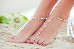 Wholesale Wild Hot Anklet - Hot wild multi-color ribbon handmade mittens anklet H140