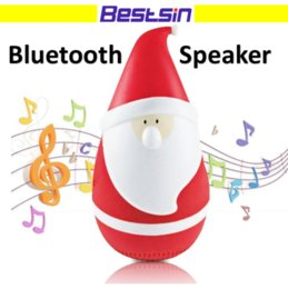 Wholesale Play Song - Christmas Gift Santa Bluetooth Speaker Play Songs for the Family Santa gift for kids Merry Christmas