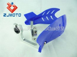 Wholesale Yamaha Ttr - BLUE BIKE ATV MX MOTOCROSS MOTORCYCLE HAND GUARDS Handguards for YAMAHA YZ XT TT 350 500 600 TTR 225 grizzly 660 700