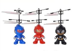 Wholesale Fly Brushes - Christmas Gift-- induction toy freely RC toy spaceman mini quadcopter,RC Flying spaceman electronic toys Learning & Education toy