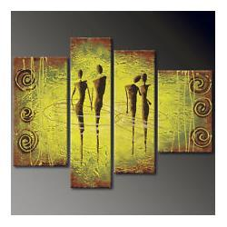 "Wholesale Modern Superb Oil Paintings - SUPERB!Modern abstract art OIL Painting on Canvas ""Couple Art""+Free Gift"