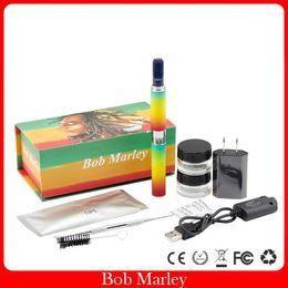 Stift heizkammern online-Bob Marley Vaporizer Dry Herb Heizkammer Zerstäuber Dry Herb Pen Vapor 650mah Batterie Elektronische Zigarette