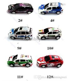 Wholesale Airplanes Class Brushless - Coke Can Design Mini Speed RC Radio Remote Control Micro Racing Car Toy Gifts