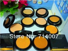 Wholesale Double Perfection Compact - Wholesale-retailMAKEUP NEW DOUBLE PERFECTION COMPACT Powder 15g ( 10pcs  lot)Free shipping