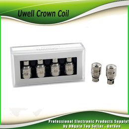 Wholesale Head Coil Ohms - Authentic Uwell Crown Coil Sub Ohm Head 0.15ohm Ni200 TC 0.25ohm 0.5ohm 1.2ohm coils for Uwell Crown tank 100% Genuine Smok TFV8 2231004