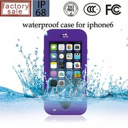 Wholesale Wholesale Red Peppers - Redpepper Red pepper Waterproof Shockproof Case For iphone 6 4.7 inch Retail Package 50pcs