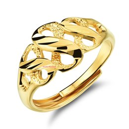 Wholesale Rolls Money - Gold Plated Infinity Ring Three Figure Eight Adjustable Band As Chinese Saying Goes: Money is rolling in