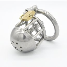 Wholesale Short Chastity Cage Catheter - Wholesale - Latest design Stainless steel Male chastity devices More short Cage Urethral Tube Coming A088