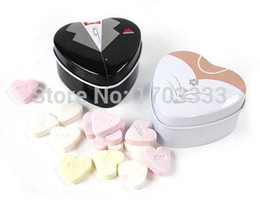 Wholesale Wholesale Mint Tin Box - Bride groom Mint tin wedding favor box 500PCS LOT free shipping dressed to the nines wedding candy box 0915#15