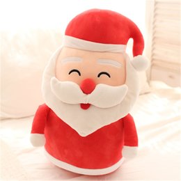 Wholesale Moose Toys - 161116 Santa Claus Doll Christmas tree plush toy Snowman moose cushion warm hand treasure Christmas gift